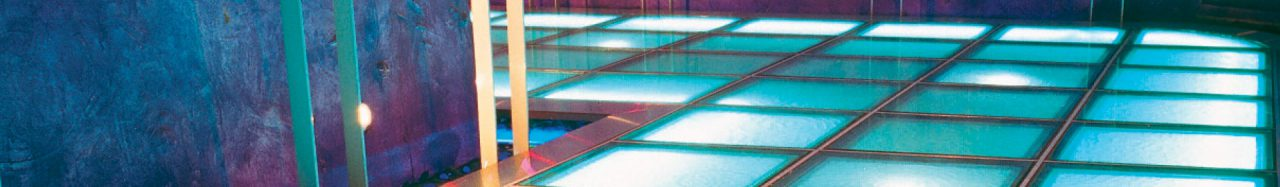 Raised Access Flooring Finishes - Glass
